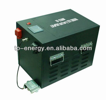 12V Solar Battery Li ion Battery 300Ah