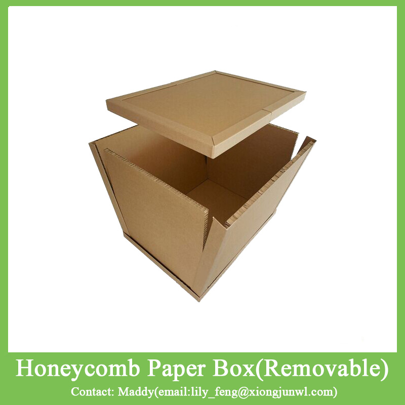 Heavy Duty Flat Pack Fold Paper Honeycomb Cardboard Carton Box