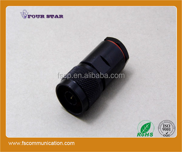 male plug clamp rf coaxial n type connector for lmr400 cable