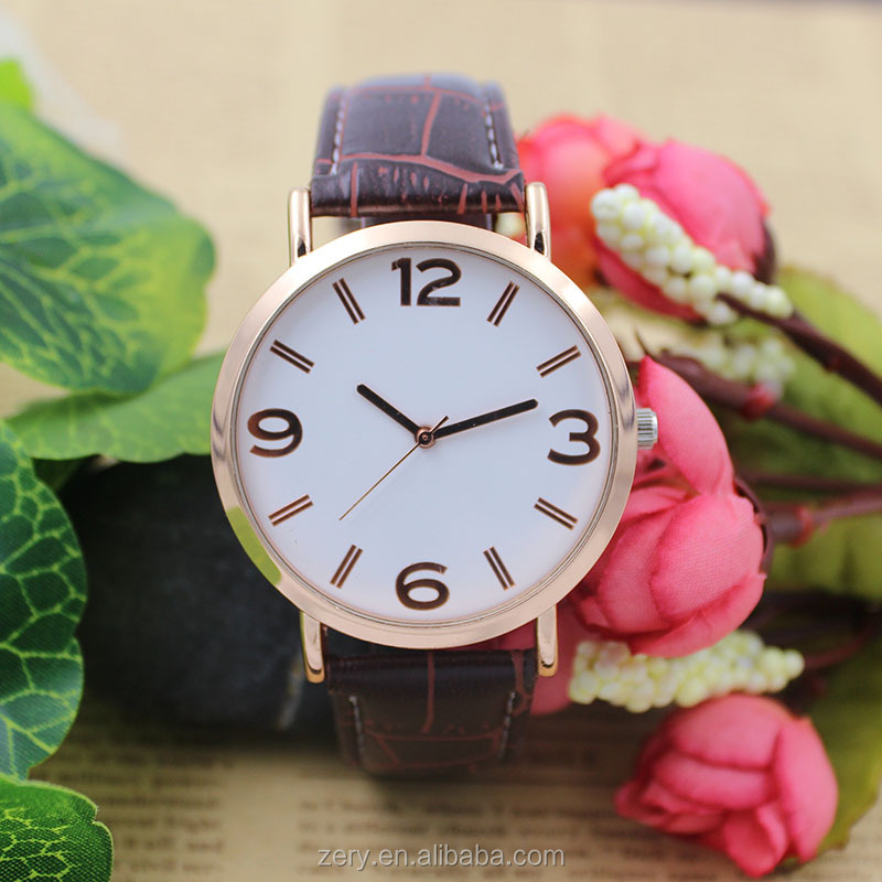 R0797 Ce rohs water resistant watches men, Good price leather watch, Custom logo brand watches.