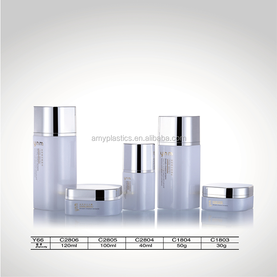30g Luxury Packaging Empty Facial Cream Cosmetic Glass Jars For Cream