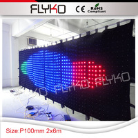 Party Decoration Event & Party Item Type and Wedding Occasion wedding stage background P10 2x6m curtain decoration