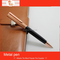promotional rose gold rotomac ball pens