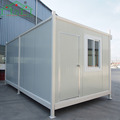 Factory price 20ft expandable economical used luxury house flat pack container homes