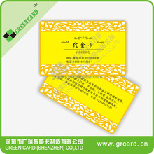 Custom High-end Debossing Cotton Paper Gold Edge VIP Business Card