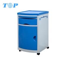 XF505 Wholesales Plastic Abs Lockers Medical Bedside Cabinets,Hospital Patient Bedside Table