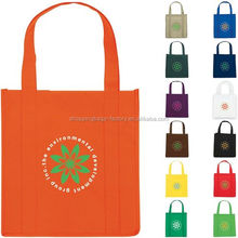 Custom printed used colorful non woven polypropylene shopping bag