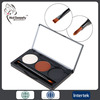 waterproof longlasting 3colors pressed powder eyebrow powder with brush and mirror make custom logo