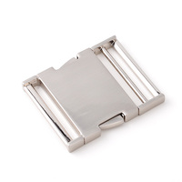 50mm metal adjustable side release buckle for handbags handle