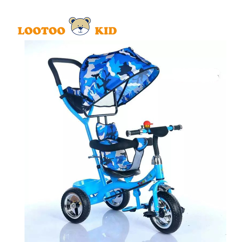 2016 China Factory wholesale baby stroller/kids tricycle with sunshade