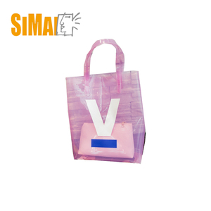 Wholesale summer fashion shopping bag, clear PVC beach bag, tote bag