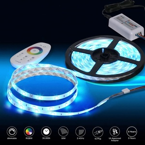 Wholesale smd led 5050 addressable rgb led strip 24v bathroom mirror with light for residence&commerce with led remote control
