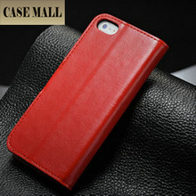 2015 hot selling leather wallet case for iphone 5, for iphone5 case with stand, flip leather case cover for iphone5