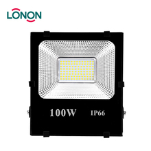 Long range warranty 3 years ip65 outdoor working led flood light 100w