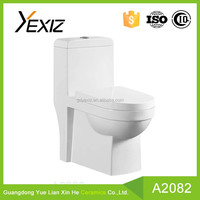 A2082 floor mounted european types of water closet