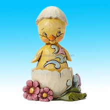 Heartwood Creek A Crack Up Pint Sized Easter Bunny Chick in Egg Shell Figurine