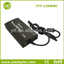 Stock Lots 120W Laptop Adapter For Home and Car Use