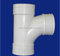 y tee pipe fitting , pvc sewer pipe fittings , four way tee pipe fitting