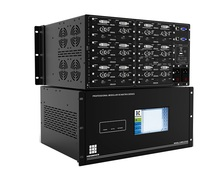Audio Visual 16x16 4K Modular seamless video switcher 16x16 HDbaseT HDMI matrix switches Any signal in Any signal out