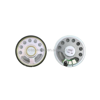 45mm 20ohm 1W mini waterproof mylar speaker for intercom or doorphone