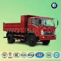 Sinotruk CDW 4700x2300x800mm body dimensions tip lorry for sale
