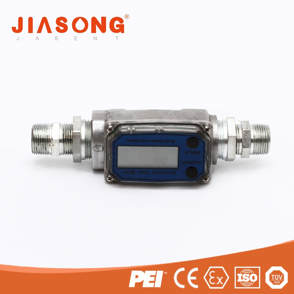 Promotions high performance small volume turbine WLL1 fuel water flow meter