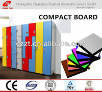 hpl toilet partition/ compact board;melamine laminate HPL