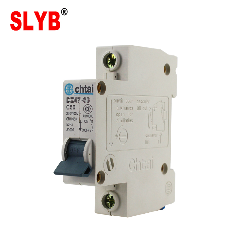 Hot Selling Circuit Types Electric Dc Breaker Dz47-63 C6 1p - Buy ...