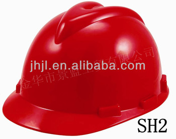 V model Safety Helmet with Chin Strip