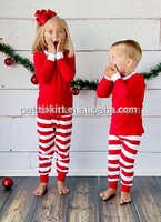 Infant Baby Unisex Pajamas Clothes Sets Christmas Toddler Outfits