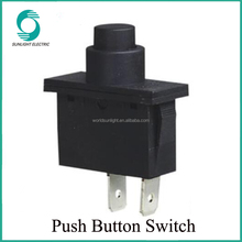 PBS-88 RK1-11D Diameter 33mm 2 terminals black electric push button switch