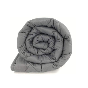 New product cotton adult sensory 15lbs glass beads weighted blanket manufacturers