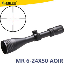 aiming riflescope sight Marcool ALT 6-24X50 AOIR hunting scopes for pcp gun accessories outdoor sport optic lens