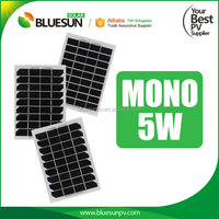 Bluesun TOP quality 1.5w solar panel 12v 5w 10w 20w 30w 40w small panel