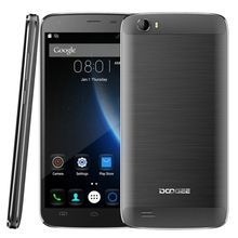 Brand New Original DOOGEE T6 Pro 3GB+32GB 6250mAh Big Battery, 5.5 inch 4G unlocked mobile phone 3G 2G cell smartphone