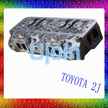 Chinese cylinder head diagram for Toyota 2J 11101-49145 11101-49146 11101-49147