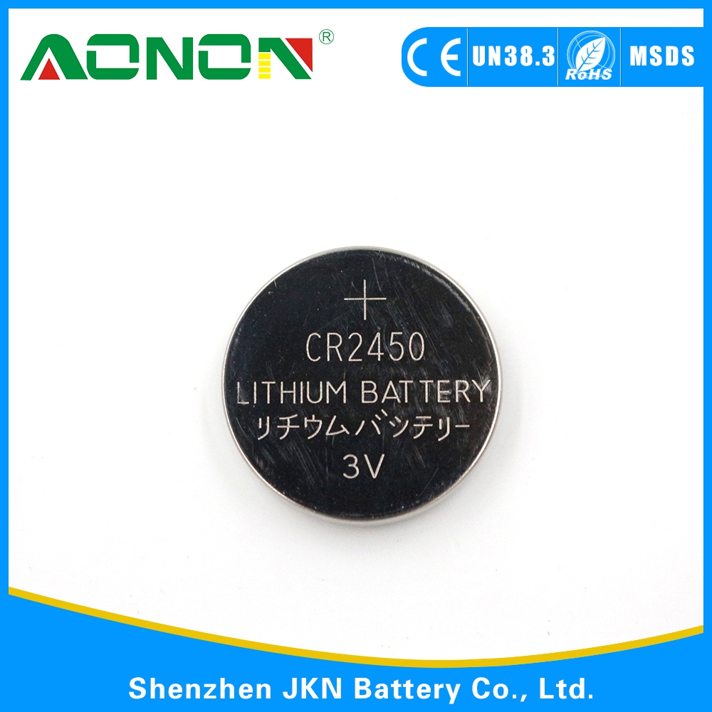Hot Selling Coin Battery Lithium Battery 3v CR2032 with Solder Tabs
