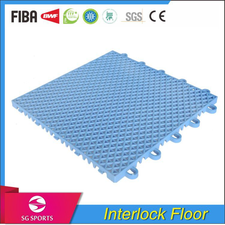 High Quality Good Price Removable Strong Stability Sports PP Interlock Flooring