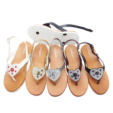 custom wholesale women fashion sandals for summer
