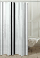 Fashion simple 100% polyester shower curtain, home textile,home and hotel design