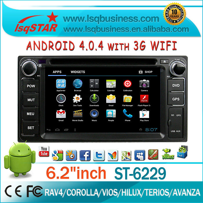 For dealer! android radios autos for Toyota Avanza with GPS,Radio,BT,DTV,APP,3G,WIFI. Hot!
