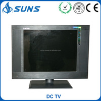 17 inch LCD TV Remote Control DC hd solar powered tv television