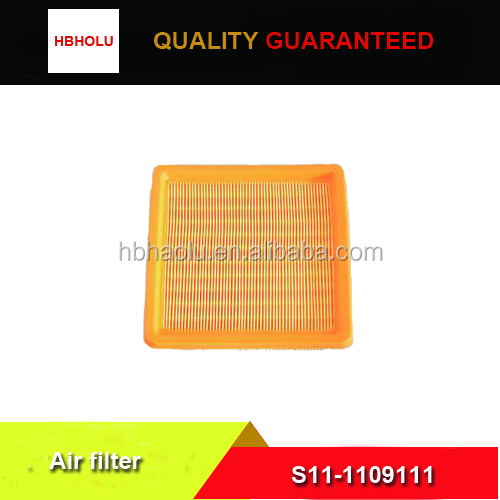 Chery QQ1.1L air filter S11-1109111 with high quality