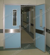 hospital surgical and operating room hermetic door with CE