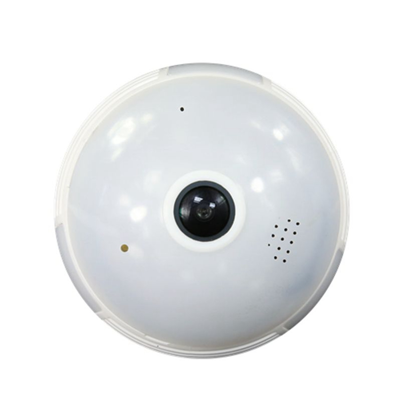 15.99 USD Amovision Q5 HD960P 360 degree fisheye light wireless bulb <strong>camera</strong>