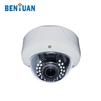 2.8-12mm Motorized Zoom Lens 1080P Dome Night Vision IP Camera