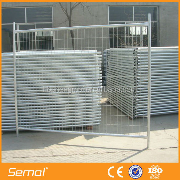 Outdoor Galvanized Iron Portable / Removable / Temporary Swimming Pool Fence Wholesale (SGS Certified Factory)