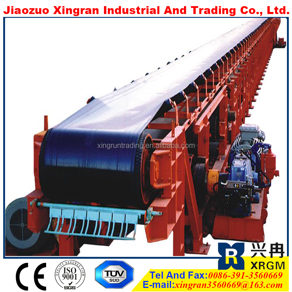 high belt speed diamond mining machinery mobile conveying machine helix conveyor system