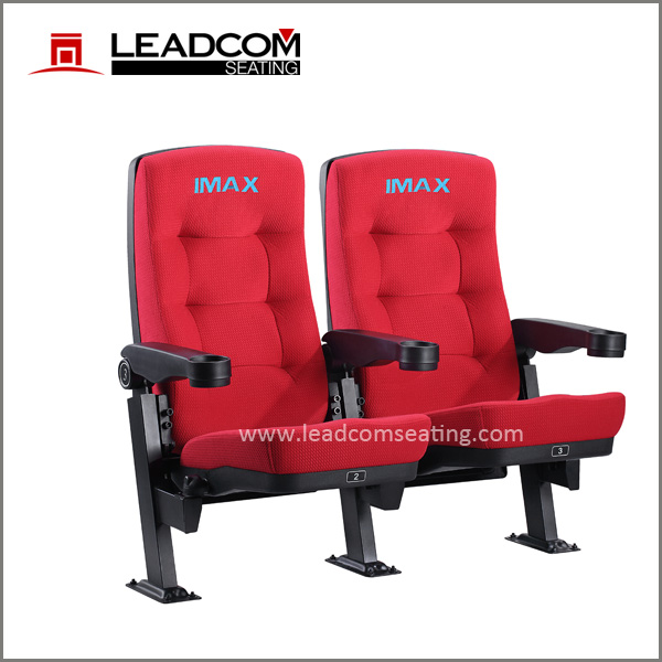 Leadcom leather upholstered lounger back cinema chair for sale (LS-11602)