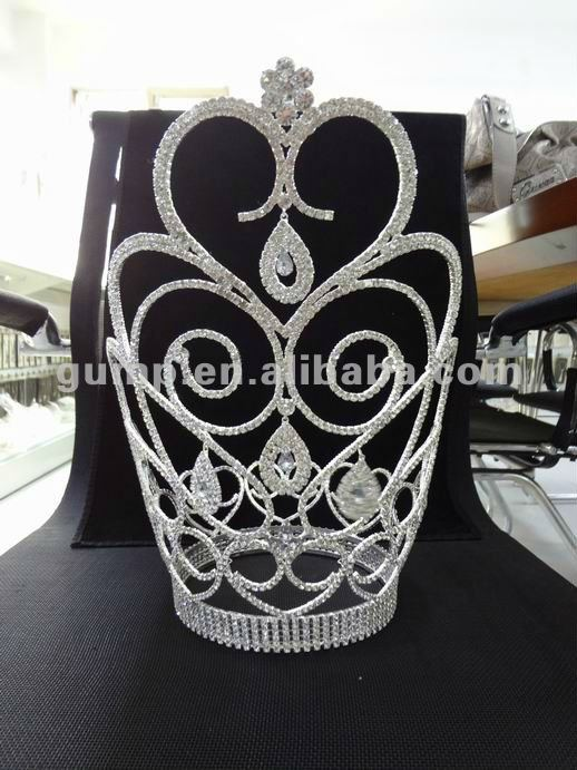carnival large crown tiara